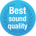 NPT Award 'Best Sound Quality'